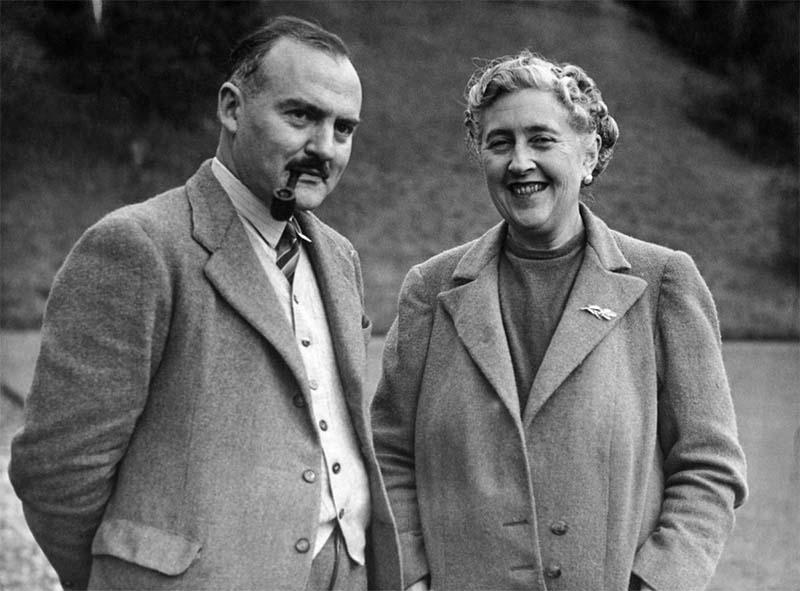 Agatha Christie e Max Mallowan-800x400