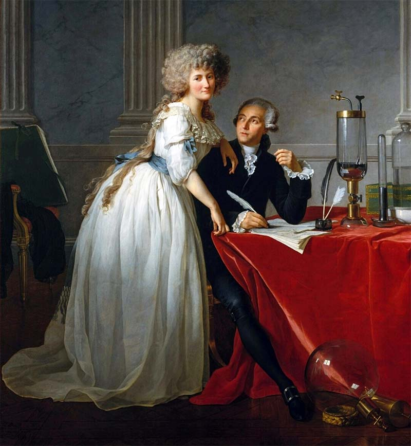 Antoine Lavoisier e Marie-Anne Paulze-800x400