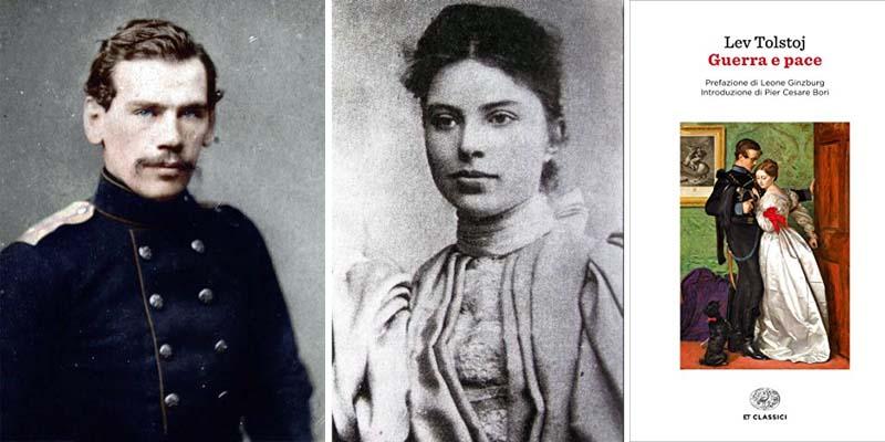Lev Tolstoj e Sofija Andreevna Bers-800x400