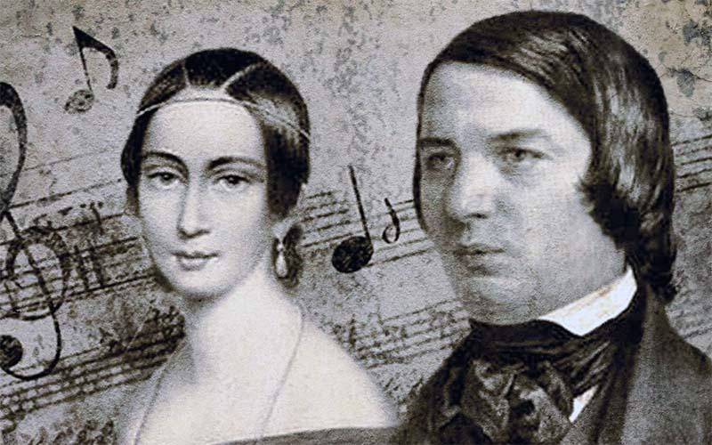 Robert Schumann e Clara Wieck -800x400