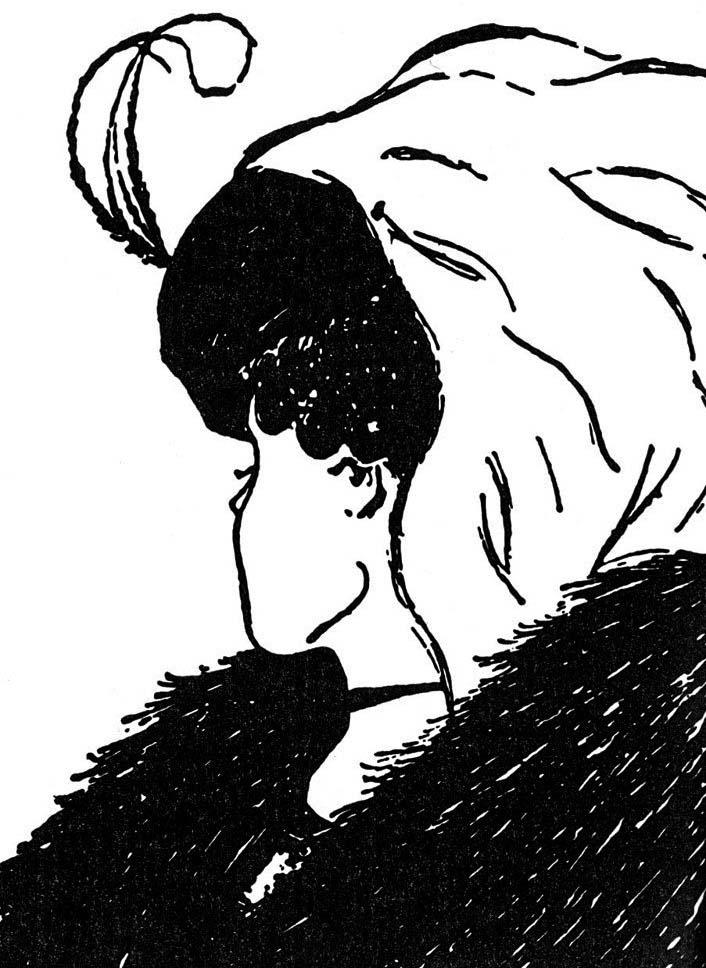 profilo giovane o anziana