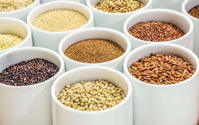 quinoa, grano khorasan
