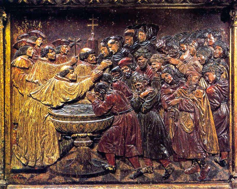 battesimo dei moriscos