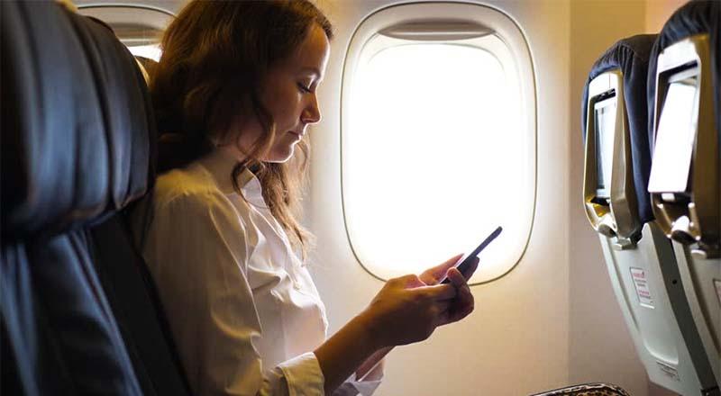cellulari aereo