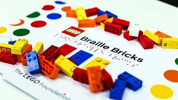 LEGO IN VERSIONE BRAILLE