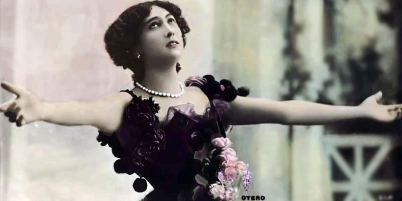 """La  """"Bella Otero"""": la vedette che non era affatto bella, ma sedusse tutti gli uomini del mondo"""