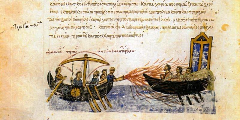 Il fuoco greco dei Bizantini-800x400 copia