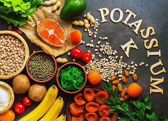 Il potassio è un minerale molto diffuso in natura