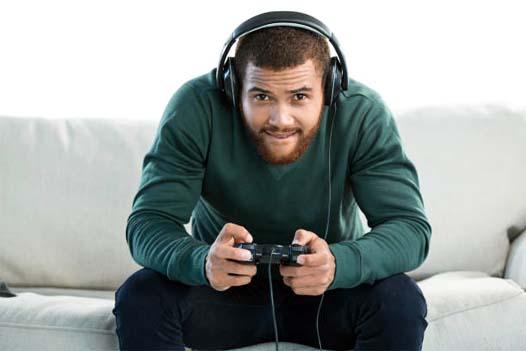 giocare videogames